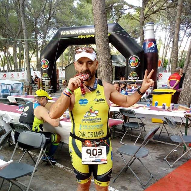 Carlos María Rejano Guerra testimonials ambassors Challenge Mallorca