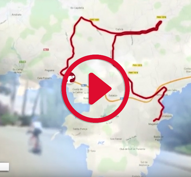 Bike course video challenge mallorca triathlon bike circuit