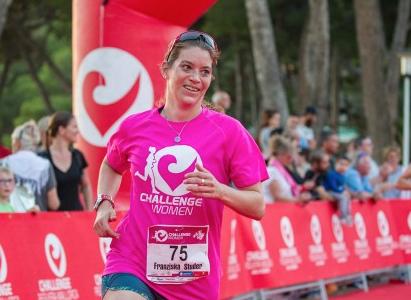 Challenge mujer Mallorca linea de meta