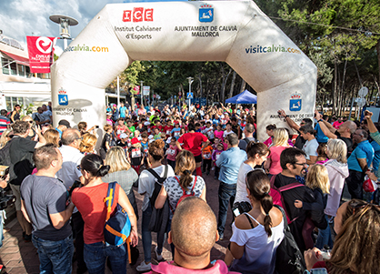 kid's race Challenge Mallorca triathlon