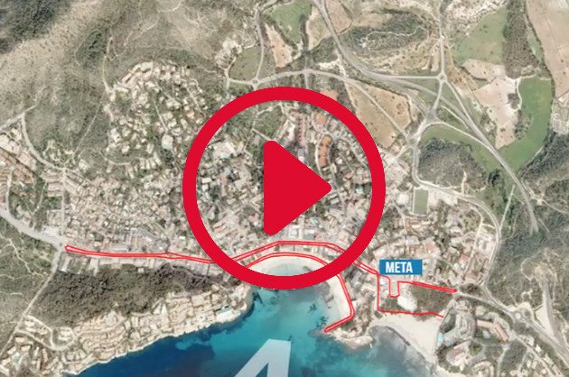Challenge Peguera Mallorca triathlon courses video the run