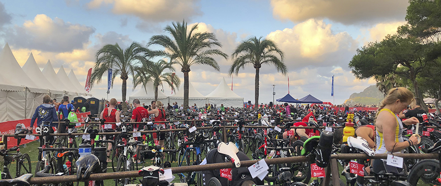Mallorca Triathlon entry fees zone T1&T2